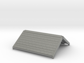 Freshwater signalbox roof 4mm/ft in Gray PA12