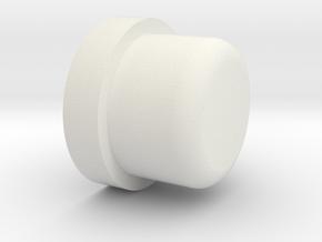 P/N NSCRID1, Steelcase roller, ball bearing adapte in White Natural Versatile Plastic