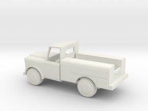 1/87 Scale M726 Jeep 1 25 ton Maintenance Truck in White Natural Versatile Plastic