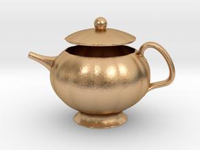 Decorative Teapot in Natural Bronze
