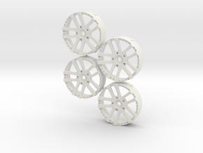 MST Wed Kranze LXZ in White Natural Versatile Plastic