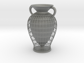 Vase 10233 (downloadable) in Gray Professional Plastic