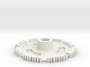 Aerodynic Gear Sizing Tool in White Natural Versatile Plastic