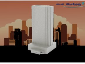 Trump International Hotel - Las Vegas (1:4000) in White Natural Versatile Plastic