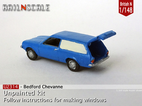 Bedford Chevanne (British N 1:148) in Smoothest Fine Detail Plastic