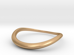Wave Ring in Natural Bronze