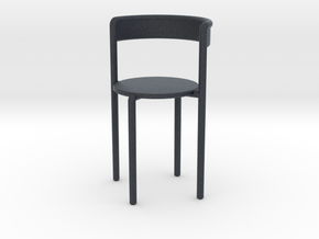 Miniature Avoa Chair - Pedro Paulø-Venzon in Black PA12: 1:12