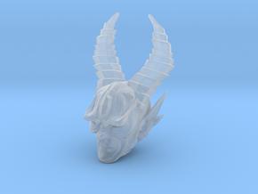 mythic demon head 2 in Smooth Fine Detail Plastic