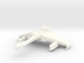 V-49 Saber Wing Frigate in White Processed Versatile Plastic