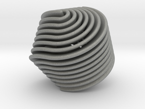Hexasphericon Retro in Gray Professional Plastic
