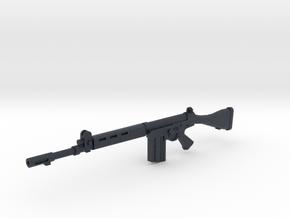 FN FAL 1:18 scale in Black PA12