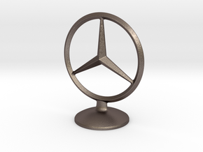 Mercedes Benz Socket in Polished Bronzed-Silver Steel