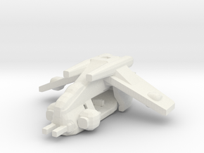 Republic LAAT Gunship in White Natural Versatile Plastic: Medium