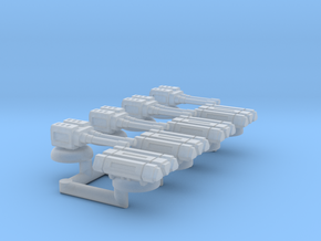 1/270 CR-90 Upgrade Turrets in Smooth Fine Detail Plastic