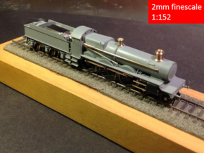 GWR Saint class locomotive, 2mm FS in Frosted Extreme Detail
