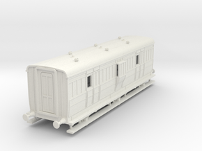 o-87-ecjs-6w-luggage-brake-coach in White Natural Versatile Plastic