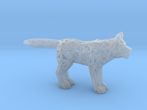 Gray Wolf (adult) in Smooth Fine Detail Plastic