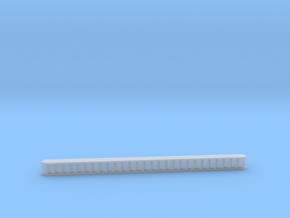 1:220 stairs / schody  in Smoothest Fine Detail Plastic