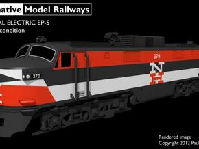 TTEP501 TT scale EP-5 loco - as built in Smooth Fine Detail Plastic