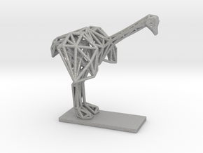 Ostrich (Young) in Aluminum