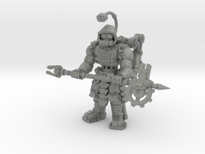 28mm Tech Cult engineer (onepiece version) in Gray Professional Plastic