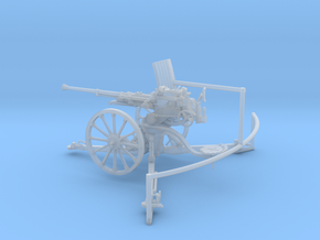 1/35 IJA Type 98 20mm anti-aircraft gun in Smooth Fine Detail Plastic