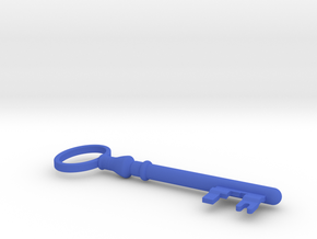 Zyuranger Key in Blue Processed Versatile Plastic
