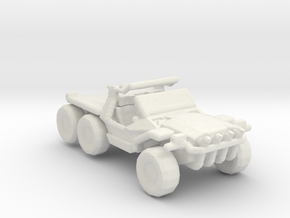 RDA ATBa1 Buggy 285 scale in White Natural Versatile Plastic