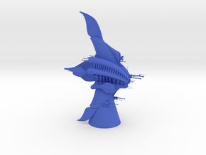 Minbari - Sharlin (5.06 x / 1.894 y / 6.358 z) in Blue Processed Versatile Plastic