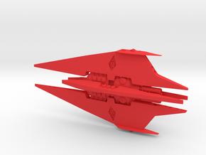 Narn - BinTak Dreadnought (4.998 x / 2.368 y / 1.4 in Red Processed Versatile Plastic