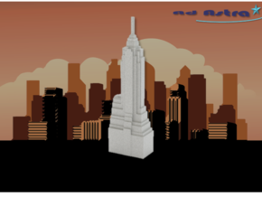 70 Pine Street - New York (1:4000) in White Natural Versatile Plastic