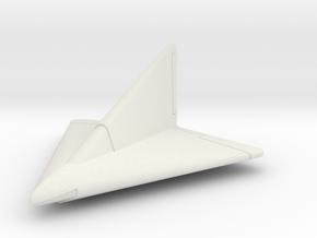 (1:144) Lippisch DM1 (Entwurf III) in White Natural Versatile Plastic