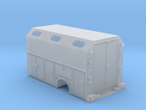 MOW Service Box Bed With Windows 1-87 HO Scale in Smooth Fine Detail Plastic