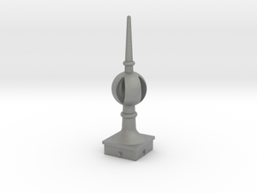 Signal Finial (Open Ball) 1:24 scale in Gray PA12