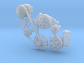 LS3/LSX 1/18 V2 serpentine in Smooth Fine Detail Plastic