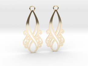 Lorelei earrings in 14K Yellow Gold: Small