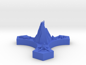 Xindi Control Node in Blue Processed Versatile Plastic