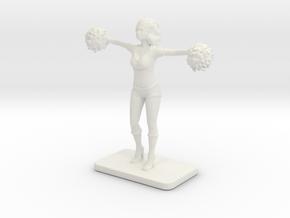 CHEERLEADER2 in White Natural Versatile Plastic