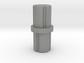 4mm Connector Pin in Gray Professional Plastic: Small