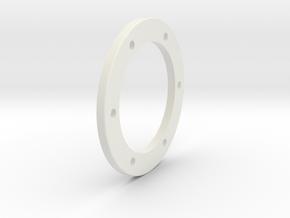 Beadlock_Ring_01_back in White Natural Versatile Plastic