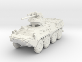 MG144-R21A BTR-80A in White Natural Versatile Plastic