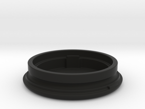 OpenBeacon Wristband Case (Bottom) in Black Natural Versatile Plastic