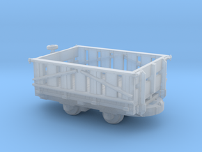N scale Fauld wagon in Smooth Fine Detail Plastic