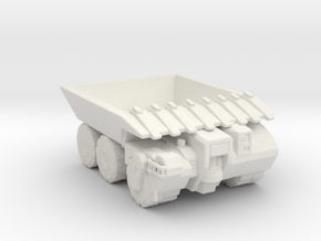 Hell Truck V2 160 scale in White Natural Versatile Plastic