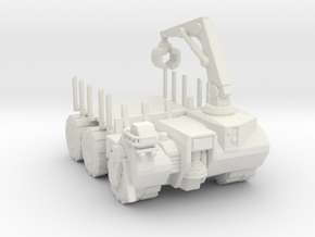 Hell truck Flatbed 160 scale in White Natural Versatile Plastic