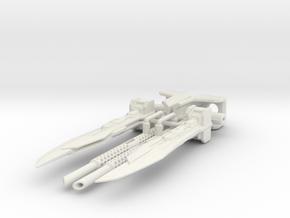TFP (FE) Optimus Prime upgrade set (rotating blade in White Premium Versatile Plastic