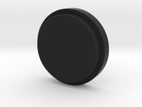 Billet Box Rev4 Fire Button concavo  v.1 in Black Premium Versatile Plastic