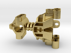 Toa Mata Body in Natural Brass (Interlocking Parts)