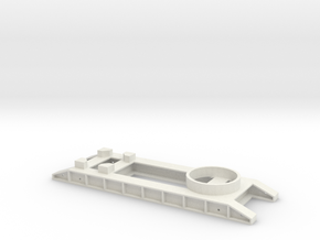 WB Nacelle transport Frame in White Natural Versatile Plastic