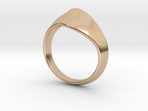 Triangle Ring Original size 8.25 in 14k Rose Gold Plated Brass
